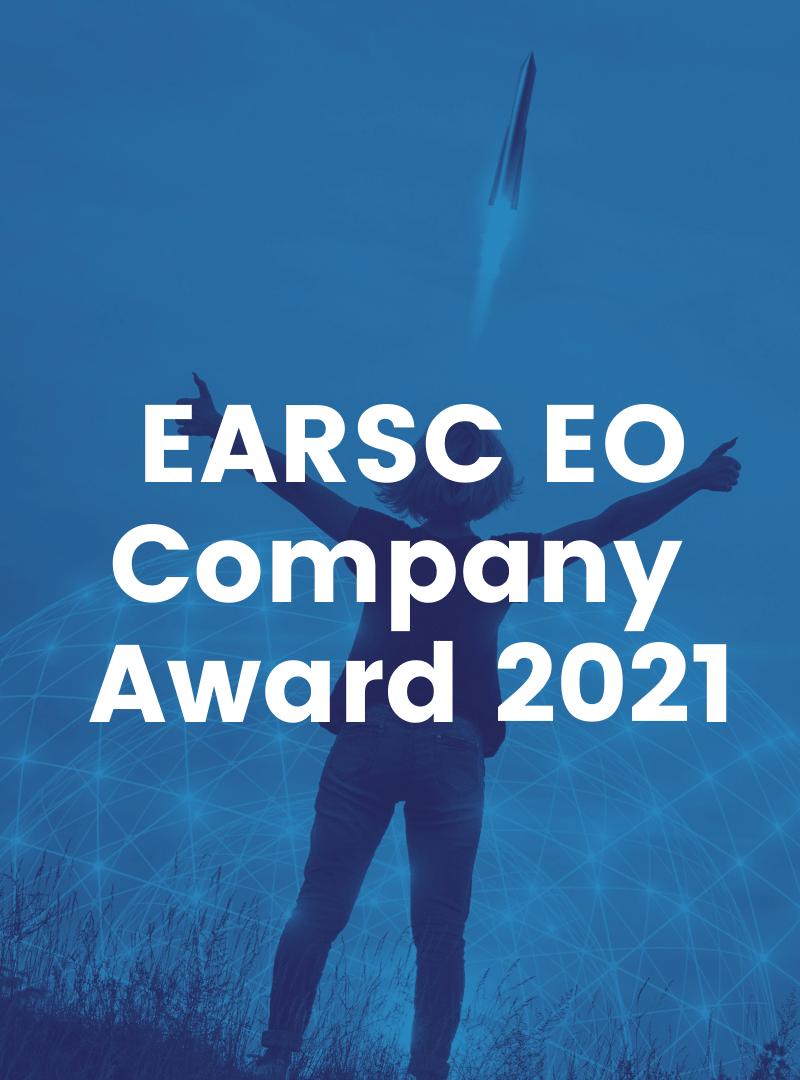 EARSC European EO Services Company Award 2021