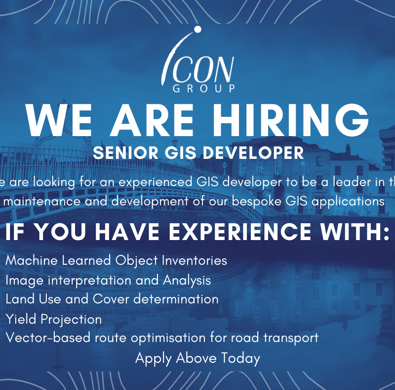 Job Offer: Icon Group – GIS Developer