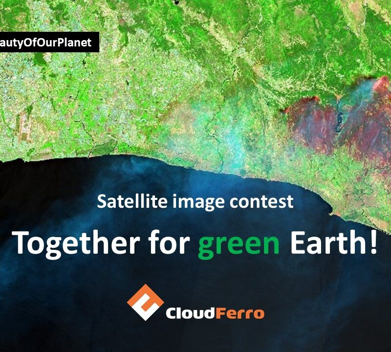 """International CloudFerro contest """"Seize the beauty of our planet"""""""