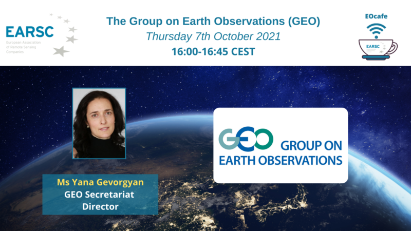 EOcafe: The Group on Earth Observations (GEO)