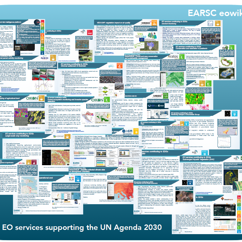 EO Services Industry Supporting the UN Agenda 2030